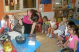 Farmer-flour and cake preparation